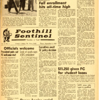 Foothill Sentinel August 8 1960