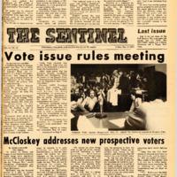 Foothill Sentinel December 3 1971