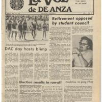 De Anza La Voz May 31 1974