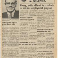 De Anza La Voz May 14 1976