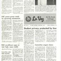 De Anza La Voz October 31 1969