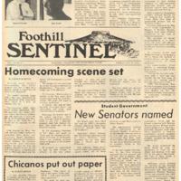 Foothill Sentinel October 9 1970
