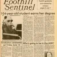 Foothill Sentinel June 14 1985
