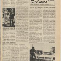 De Anza La Voz January 10 1975