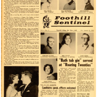 Foothill Sentinel January 8 1960