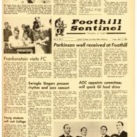 Foothill Sentinel November 5 1965