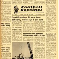 Foothill Sentinel November 18 1960