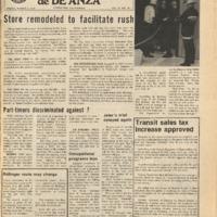 De Anza La Voz March 5 1976