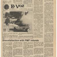 De Anza La Voz January 12 1978