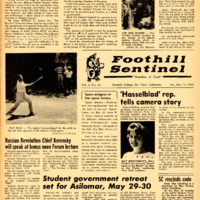 Foothill Sentinel May 13 1960