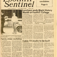 Foothill Sentinel March 8 1985