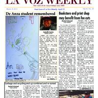 De Anza La Voz March 18 2013