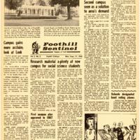 Foothill Sentinel September 17 1962