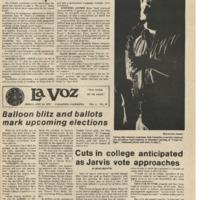 De Anza La Voz April 14 1978
