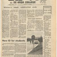 De Anza La Voz March 8 1974