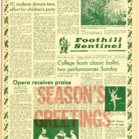 Foothill Sentinel December 15 1967