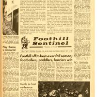 Foothill Sentinel October 8 1965
