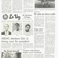 De Anza La Voz September 29 1967