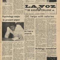 De Anza La Voz April 27 1973