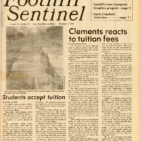 Foothill Sentinel February 3 1984