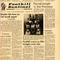 Foothill Sentinel May 13 1966