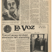 De Anza La Voz March 3 1978