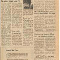 De Anza La Voz October  8 1971