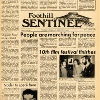 Foothill Sentinel April 23 1971
