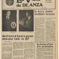 De Anza La Voz October 8 1976