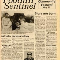 Foothill Sentinel April 19 1985