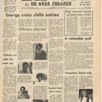 De Anza La Voz November 30 1973