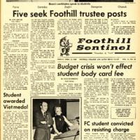 Foothill Sentinel April 11 1969