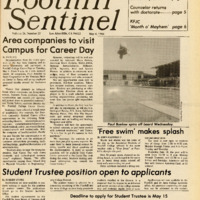 Foothill Sentinel May 4 1984