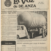 De Anza La Voz November 7 1975