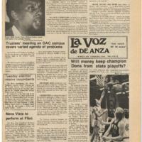 De Anza La Voz March 7 1975
