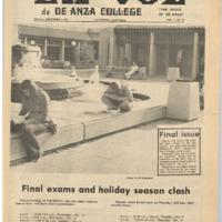 De Anza La Voz December 7 1973