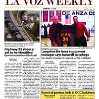 De Anza La Voz January 7 2013