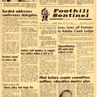 Foothill Sentinel March 11 1960