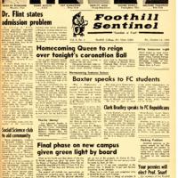 Foothill Sentinel October 14 1960