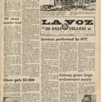 De Anza La Voz April 13 1973