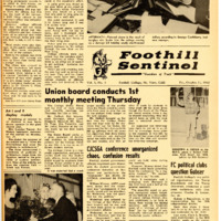 Foothill Sentinel October 21 1960