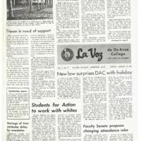 De Anza La Voz January 24 1969