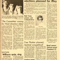 Foothill Sentinel April 30 1965