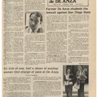 De Anza La Voz April 25 1975
