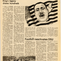 Foothill Sentinel January 24 1986