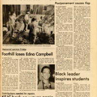 Foothill Sentinel March 7 1986