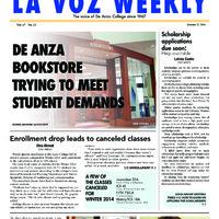 De Anza La Voz January 27 2014