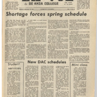 De Anza La Voz January 18 1974