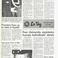 De Anza La Voz April 11 1969