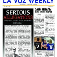 De Anza La Voz April 29 2013